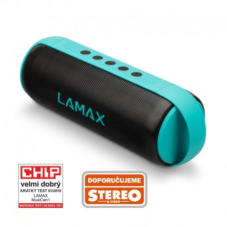 LAMAX MusiCan1 Turquoise