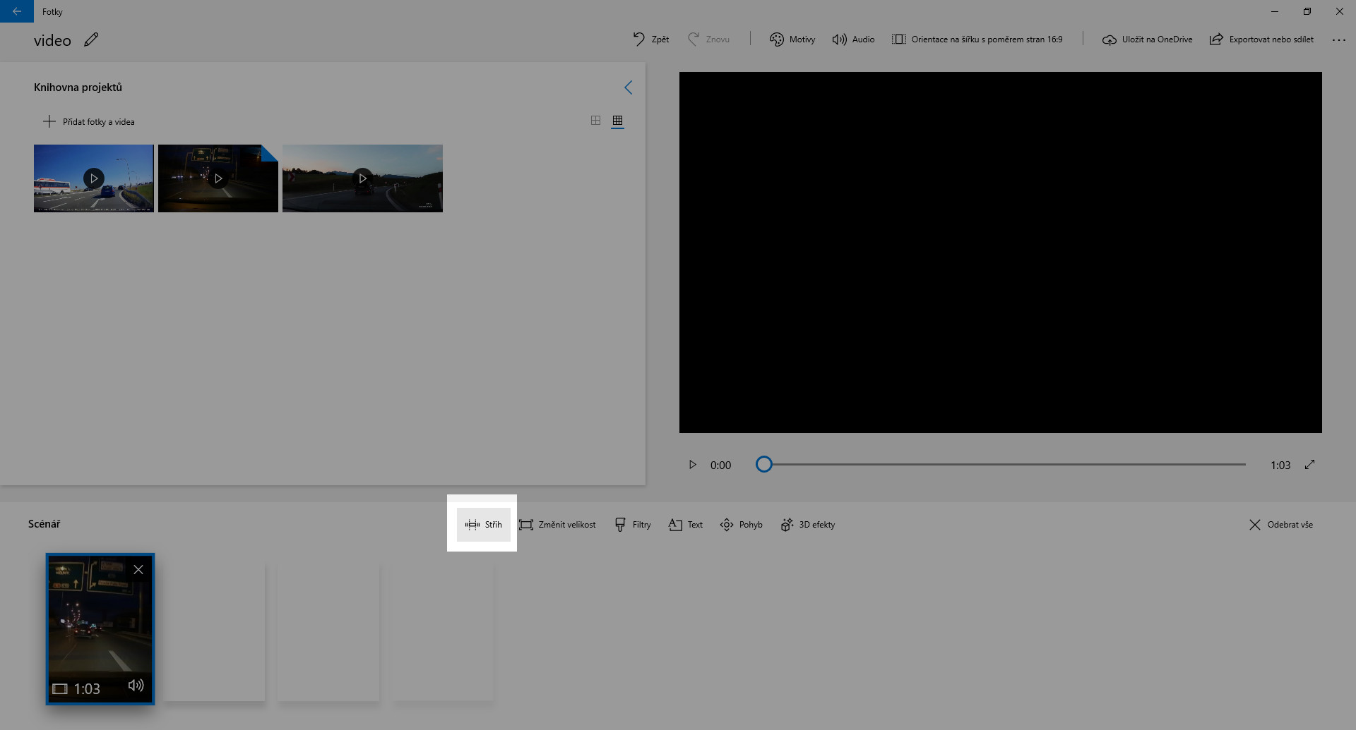 Jak sestříhat video z kamery do auta - obrázek 2