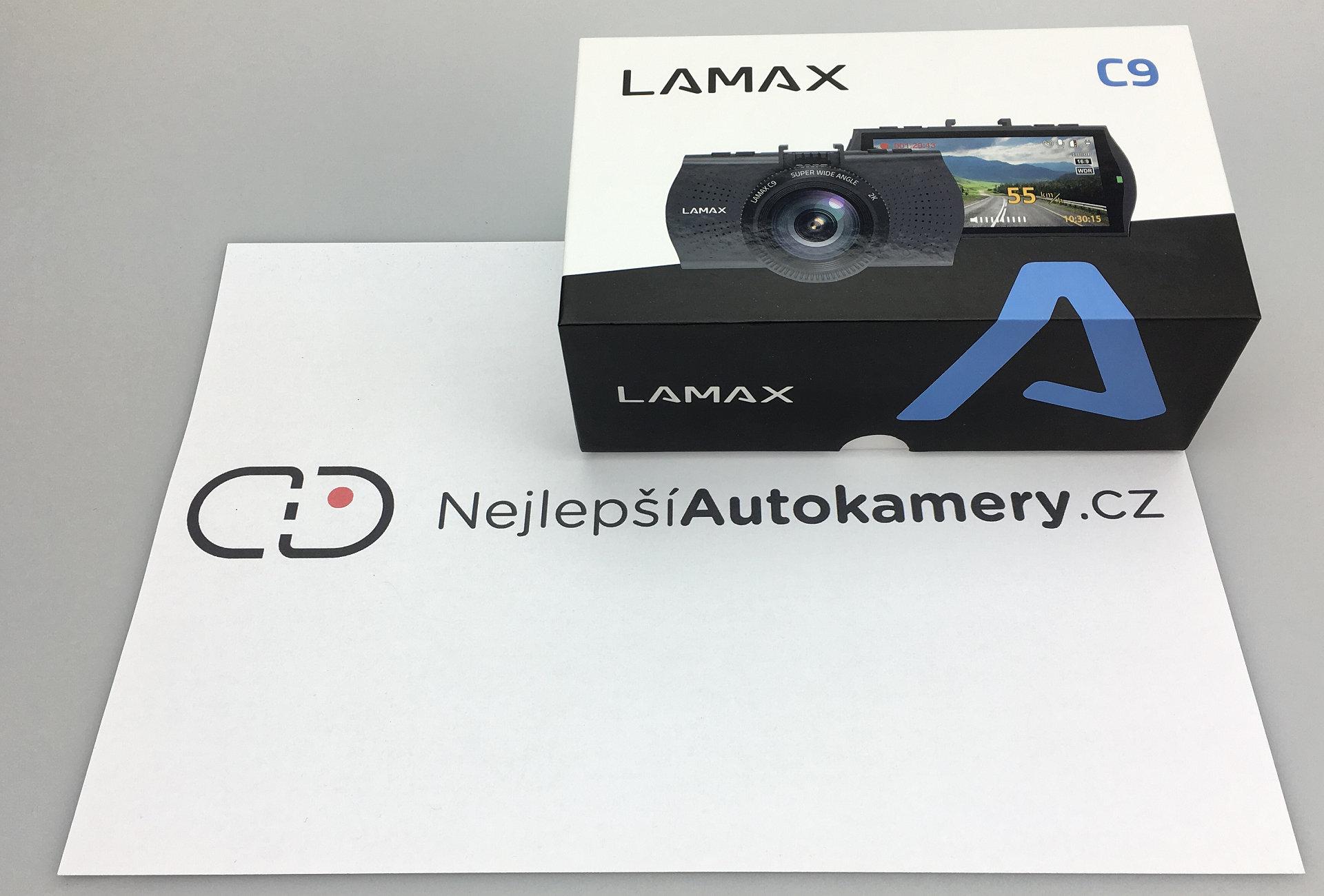 Recenze LAMAX C9 - fotka 1